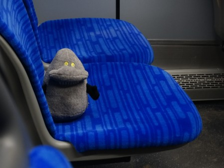 Buka w autobusie na lotnisko