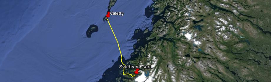 Svartisen Gård - Værøy