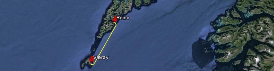 Værøy - Reine