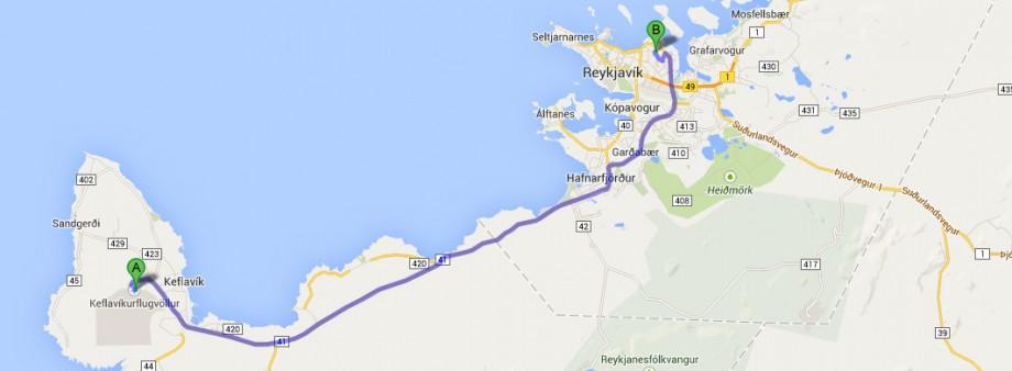 Keflavík - Kemping Reykjavik