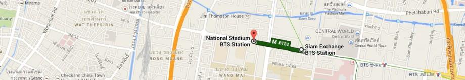 stacja metra Siam - stacja metra National Stadium