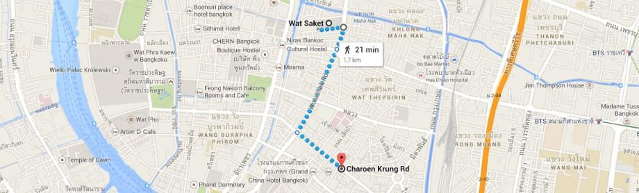Wat Saket - Chinatown