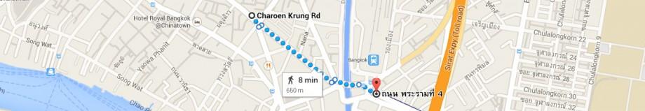 Przejście do stacji metra Hua Laphong