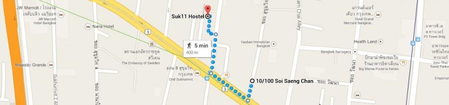 Alisha Restaurant - Suk 11 Hostel