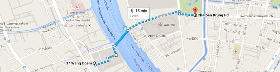 Wat Arun - przystanek autobusowy
