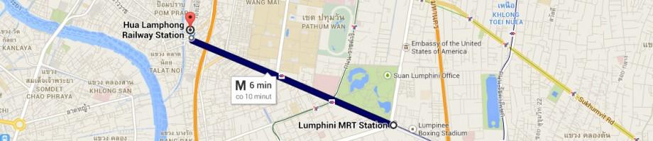 Hua Lamphong - Lumphini Park