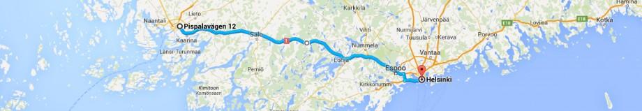 Turku - Helsinki