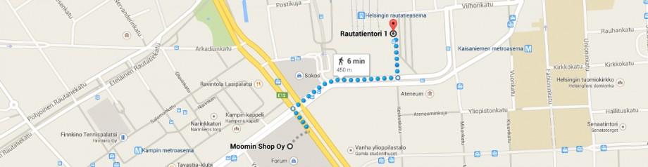 Moomin Shop - przystanek na lotnisko