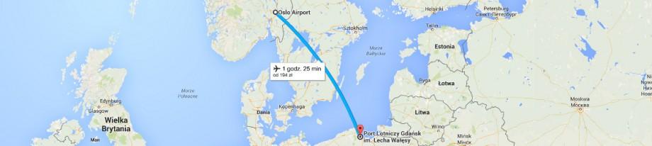 Z Gdańska do Oslo